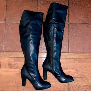 Torrid Over the Knee Heeled Wide Width Tall Boots